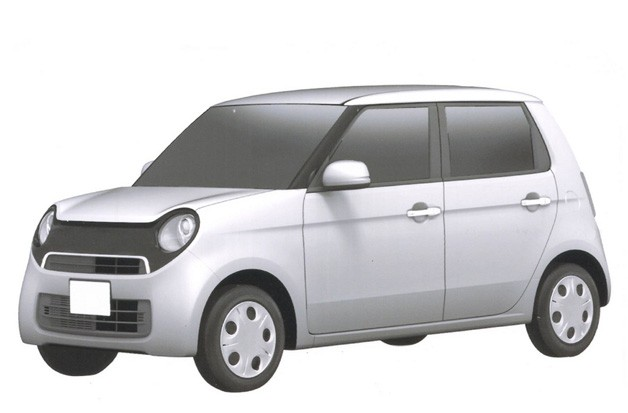  Mystery retro Honda kei car - patent drawing?