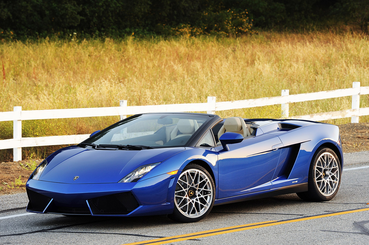 2012 Lamborghini Gallardo LP 550-2 Spyder [w/video] - Autoblog