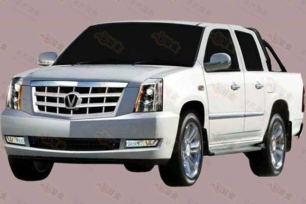 Cadillac Escalade EXT gets the bad Chinese knock-off treatment