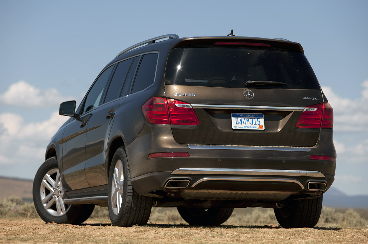 2013 Mercedes-Benz GL450 [w/video] - Autoblog