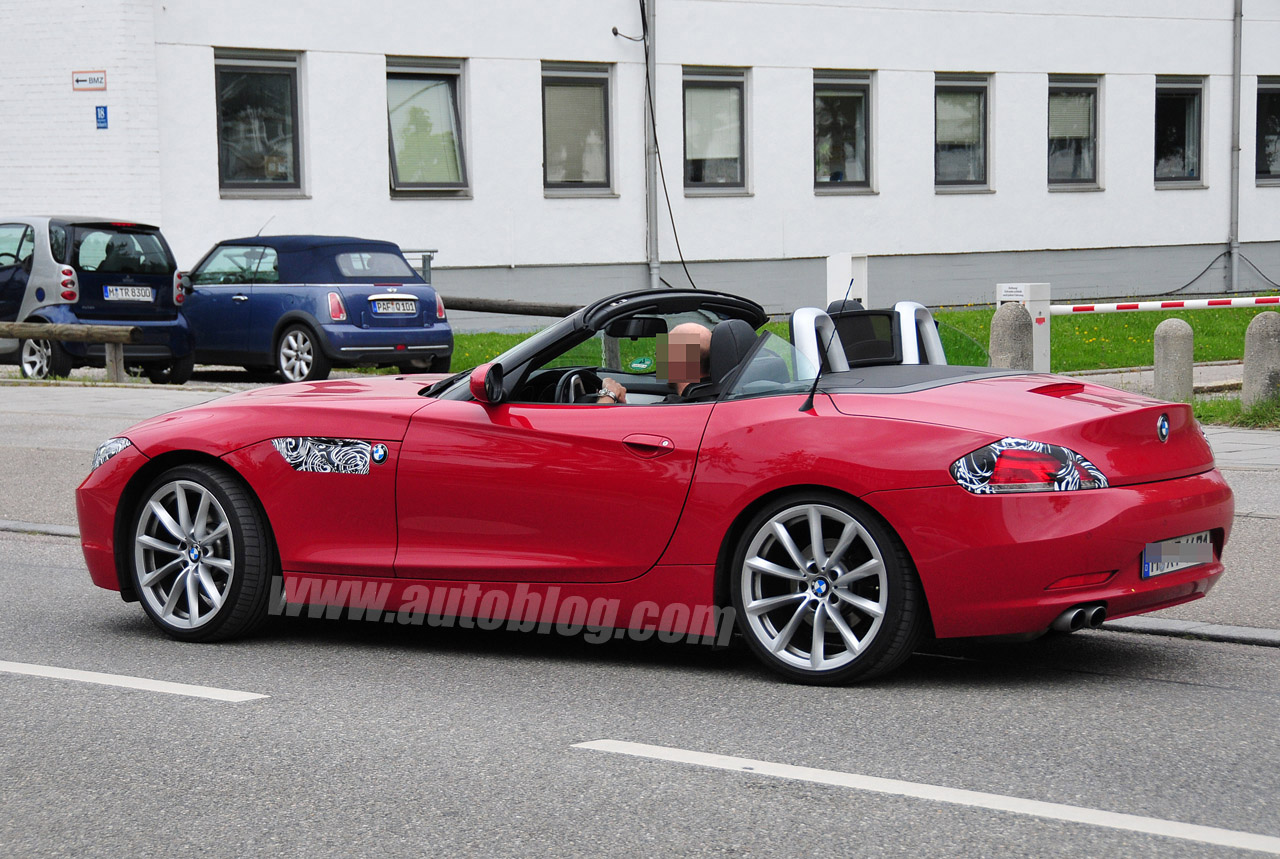 BMW Z4 nip/tuck spotted