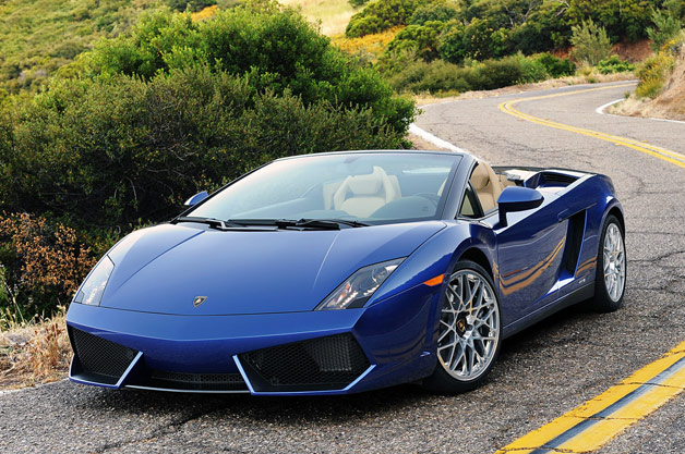 2012 lamborghini gallardo lp 550 2 spyder w video. Black Bedroom Furniture Sets. Home Design Ideas