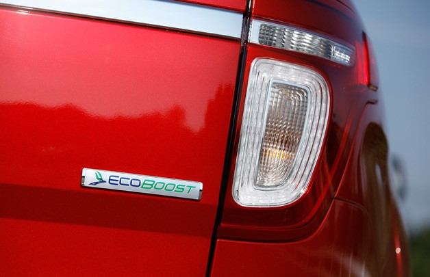 2012 Ford Explorer EcoBoost badge