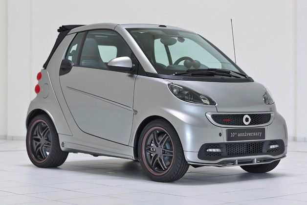 Smart BRABUS 10th anniversary edition