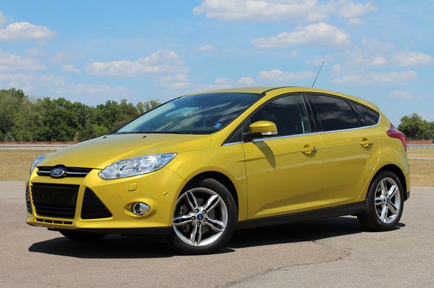2012 Ford Focus 1.0-liter EcoBoost
