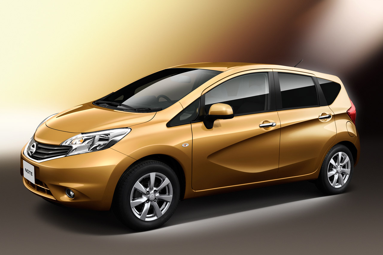 new nissan note introduces the squash line w videos autoblog. Black Bedroom Furniture Sets. Home Design Ideas