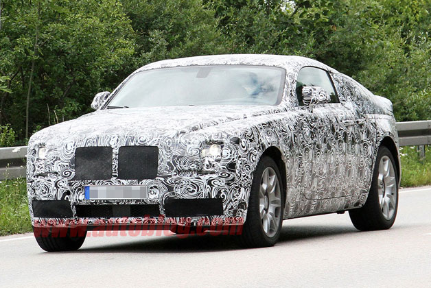 2014 Rolls-Royce Corniche Coupe Spy Photos