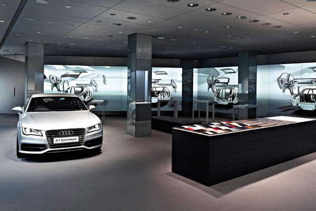 Audi opens digital showroom in London