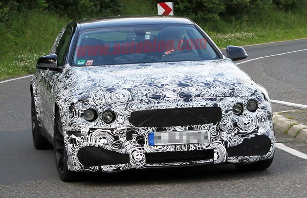 BMW M4 spy shots