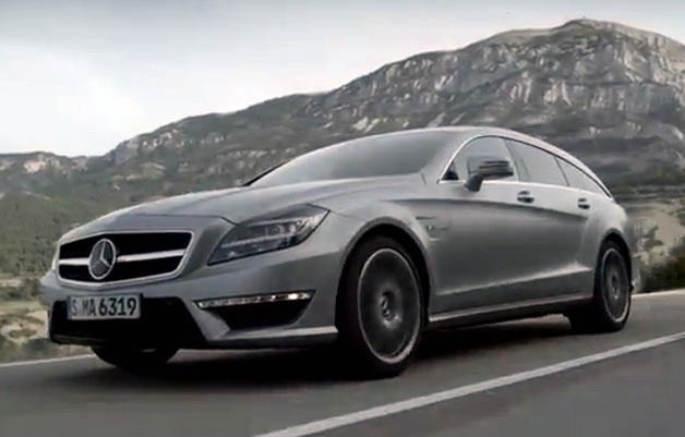Mercedes-Benz CLS63 AMG Shooting Brake video