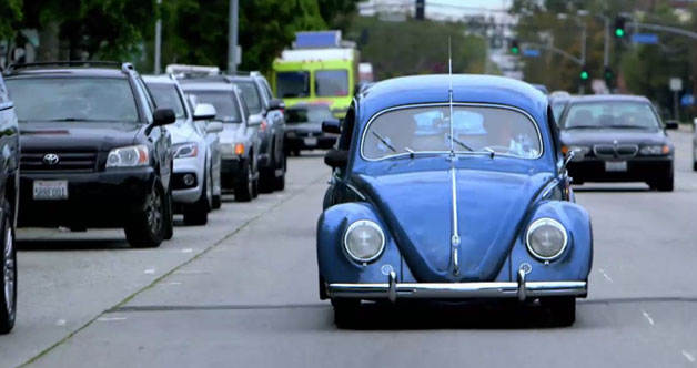 comedians in cars getting coffee jerry seinfeld Seinfeld premiers new show with VW Bug and Larry David