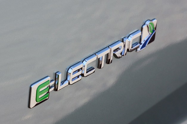 Ford Focus Electric badge