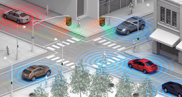 GM Wireless Pedestrian Detection