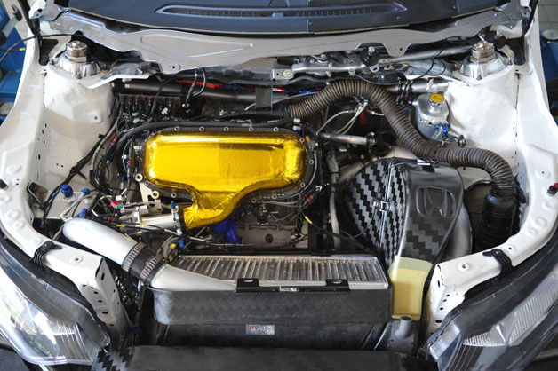 Honda HR412E 1.6-liter touring car race engine
