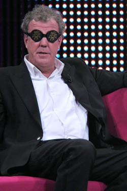 Jeremy Clarkson in funny glasses