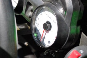 2012 Campagna T-Rex 14R tachometer