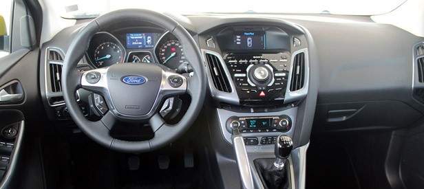 2012 Ford Focus 1.0-liter EcoBoost interior