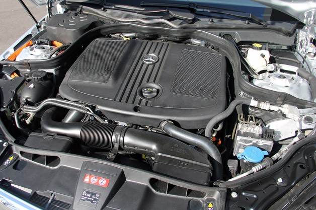 2012 Mercedes E 300 BlueTEC Hybrid engine