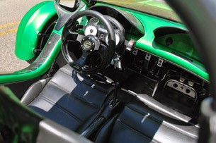 2012 Campagna T-Rex 14R interior