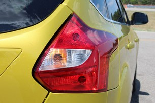 2012 Ford Focus 1.0-liter EcoBoost taillight