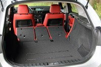 2013 BMW X1 rear cargo area
