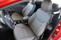 2013 Hyundai Elantra Coupe front seats