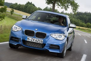 2012 BMW M135i driving