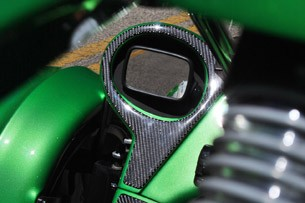 2012 Campagna T-Rex 14R rear view mirror