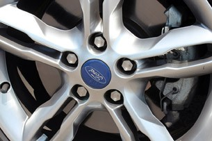 2012 Ford Focus 1.0-liter EcoBoost wheel detail