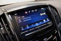 2013 Cadillac ATS audio system display