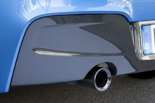 2012 BMW M135i exhaust tip