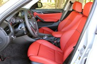 2013 BMW X1 front seats