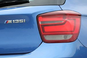 2012 BMW M135i taillight