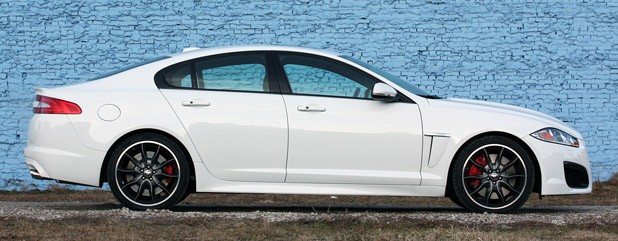2012 Jaguar XFR side view