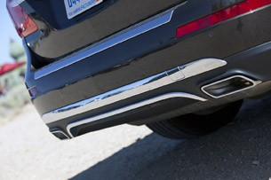 2013 Mercedes-Benz GL450 rear fascia