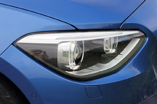 2012 BMW M135i headlight