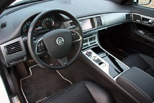 2012 Jaguar XFR interior