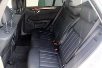 2012 Mercedes E 300 BlueTEC Hybrid rear seats