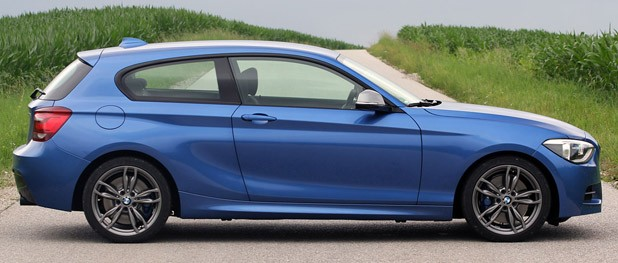 2012 BMW M135i side view