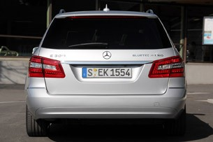 2012 Mercedes E 300 BlueTEC Hybrid rear view