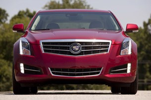 2013 Cadillac ATS front view