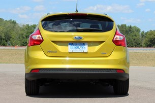 2012 Ford Focus 1.0-liter EcoBoost rear view