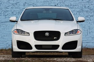 2012 Jaguar XFR front view