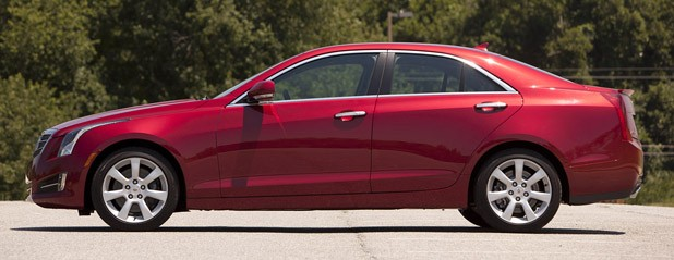 2013 Cadillac ATS side view