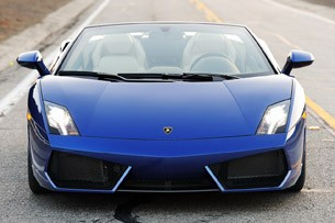 2012 Lamborghini Gallardo LP 550-2 Spyder front view