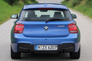 2012 BMW M135i rear view