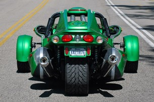 2012 Campagna T-Rex 14R rear view