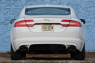 2012 Jaguar XFR rear view