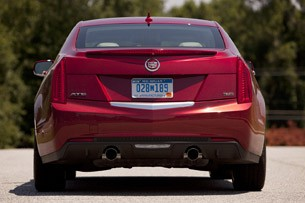 2013 Cadillac ATS rear view