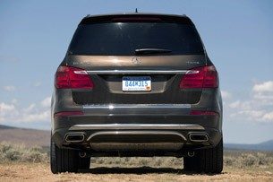 2013 Mercedes-Benz GL450 rear view